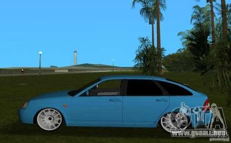Lada Priora Hatchback v2.0 para GTA Vice City left