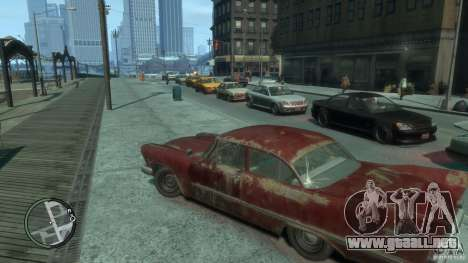 Plymouth Savoy Club Sedan 1957 para GTA 4 Vista posterior izquierda