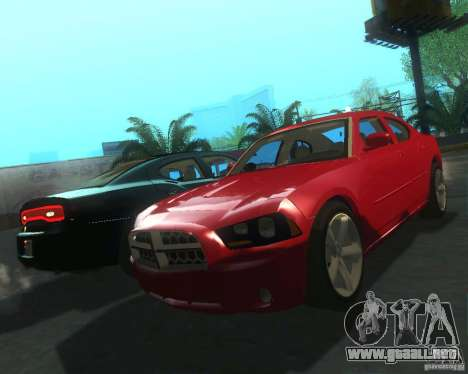 Dodge Charger 2011 para GTA San Andreas left