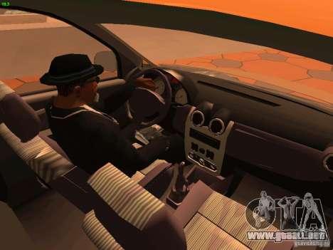 Nissan NP200 para la vista superior GTA San Andreas