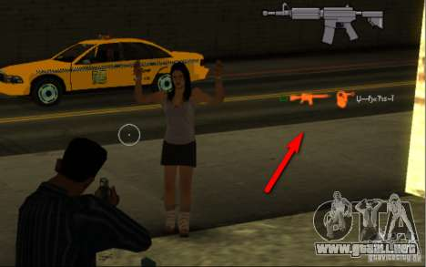 KILL LOG para GTA San Andreas