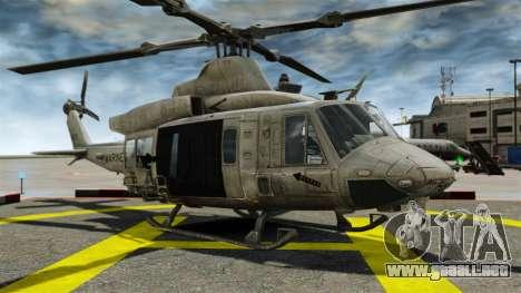 Helicóptero Bell UH-1Y Venom para GTA 4