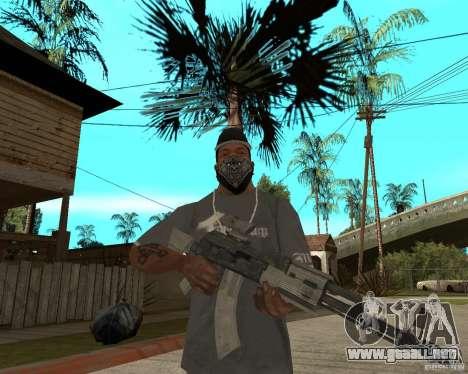 AK47 con el visor óptico estándar para GTA San Andreas