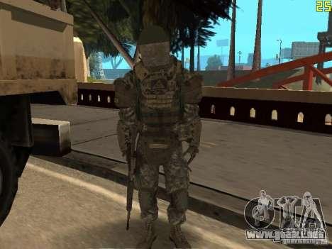 Luchar contra los soldados de CoD: Mw2 para GTA San Andreas sexta pantalla