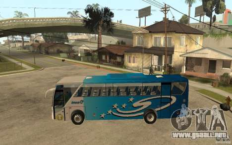 Hino New Travego V.Damri para GTA San Andreas left