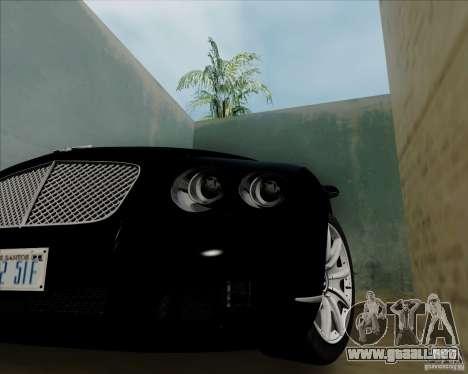 Bentley Continental GT V1.0 para la visión correcta GTA San Andreas