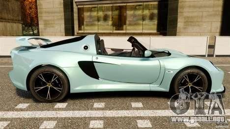 Lotus Exige S 2012 para GTA 4 left