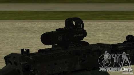 M240 para GTA San Andreas tercera pantalla