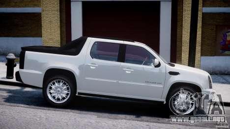 Cadillac Escalade Ext para GTA 4 left