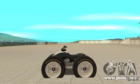 QUAD BIKE Custom Version 1 para GTA San Andreas left