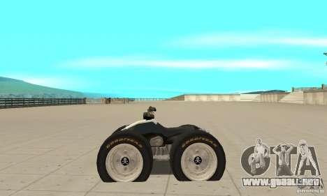 QUAD BIKE Custom Version 1 para GTA San Andreas left