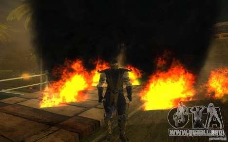 Scorpion v2.2 MK 9 para GTA San Andreas quinta pantalla