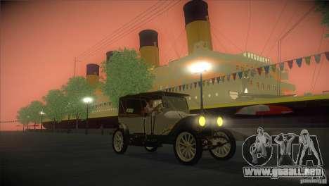 Russo-Balt con 2440 para visión interna GTA San Andreas