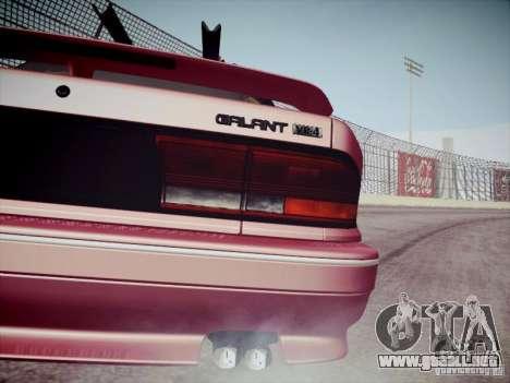 Mitsubishi Galant 1992 JDM para GTA San Andreas vista hacia atrás