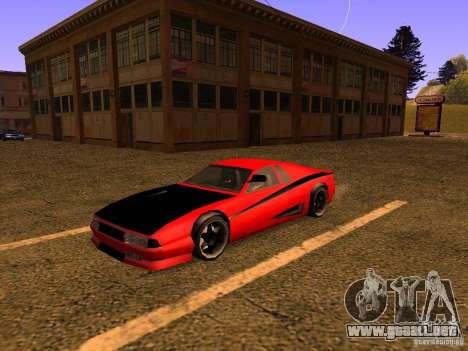 New Cheetah para GTA San Andreas