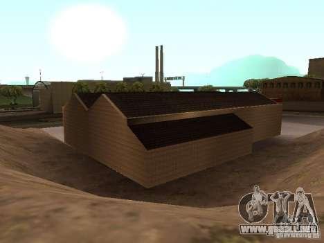 El garaje de Ferrari en Dorothy para GTA San Andreas sexta pantalla
