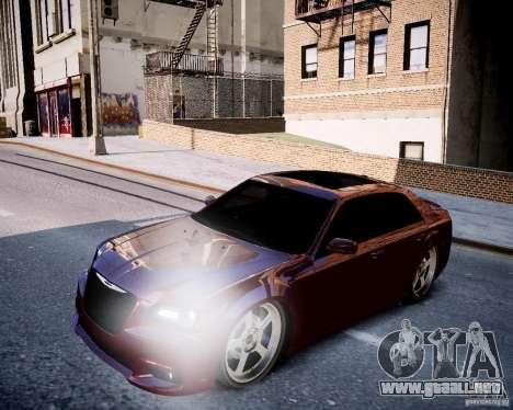 Chrysler 300 SRT8 DUB 2012 para GTA 4 vista lateral