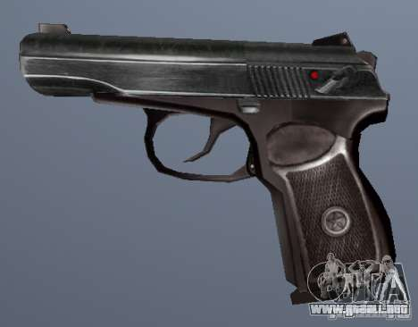Pistola Makarov para GTA San Andreas segunda pantalla