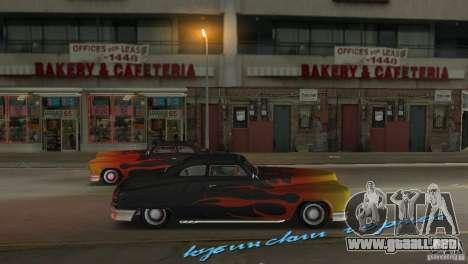 Cuban Hermes HD para GTA Vice City visión correcta