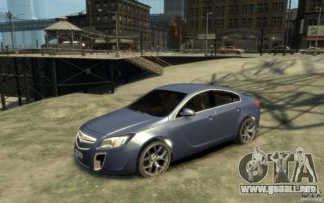 Opel Insignia OPC 2010 para GTA 4