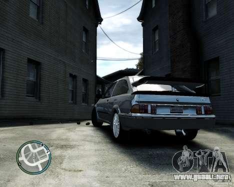 Ford Sierra RS500 Cosworth v1.0 para GTA 4 visión correcta