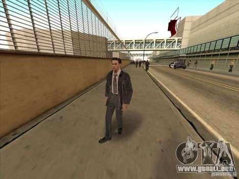 Max Payne para GTA San Andreas tercera pantalla