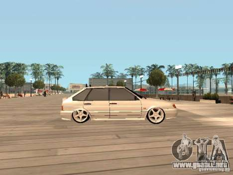 BESTIA ВАЗ 2114 para GTA San Andreas left