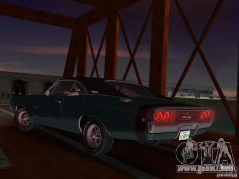 Dodge Charger 426 R/T 1968 v1.0 para GTA Vice City visión correcta