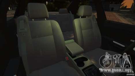 Cadillac CTS-V 2004 para GTA 4 vista interior