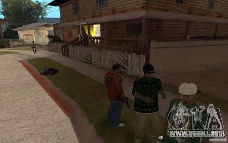 Grove Street Skin Pack para GTA San Andreas quinta pantalla