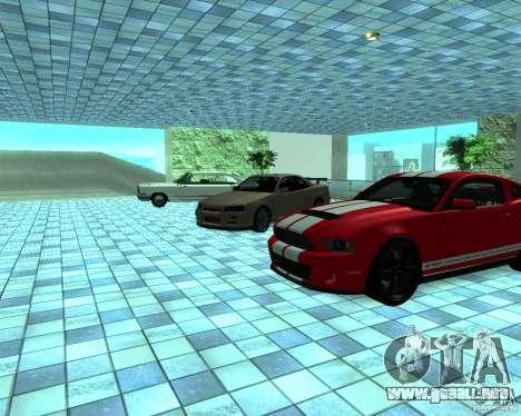 HD Motor Show para GTA San Andreas novena de pantalla
