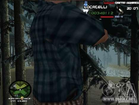New HUD  v.2 para GTA San Andreas tercera pantalla