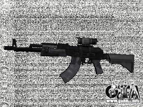 MW2AK47 para GTA San Andreas