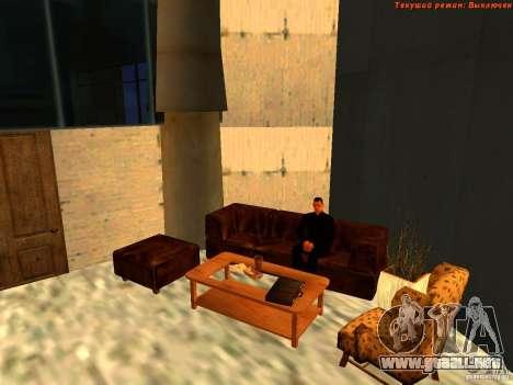 20th floor Mod V2 (Real Office) para GTA San Andreas novena de pantalla