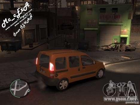 Renault Kangoo 2007 para GTA 4 vista lateral