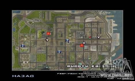Nuevas texturas interiores para casas seguras para GTA San Andreas sexta pantalla