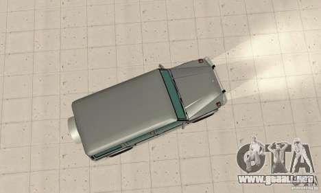 Mercedes-Benz G500 1999 v. 1.1 kengurâtnikom para la visión correcta GTA San Andreas