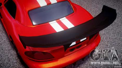 Dodge Viper RT 10 Need for Speed:Shift Tuning para GTA 4 vista lateral