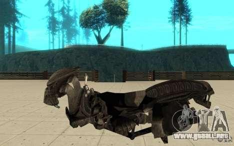 Bike predator para GTA San Andreas left