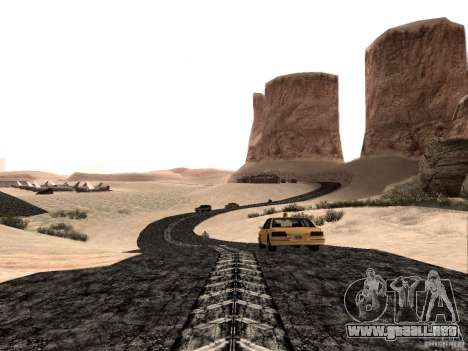New roads in Las Venturas para GTA San Andreas segunda pantalla