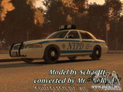 Ford Crown Victoria Police para GTA 4