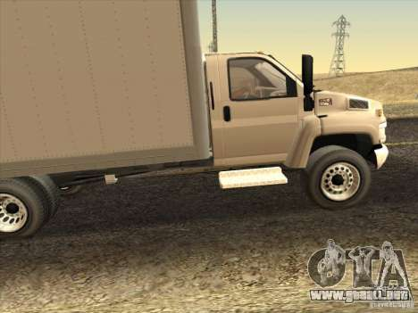 GMC 5500 2001 para GTA San Andreas left