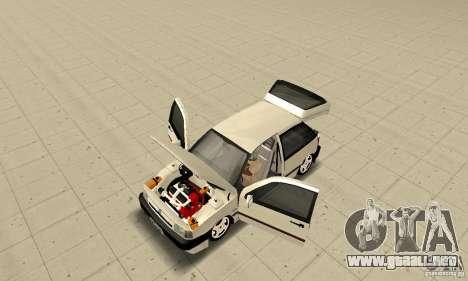 Fiat Tipo 2.0 16V 1995 para GTA San Andreas vista hacia atrás