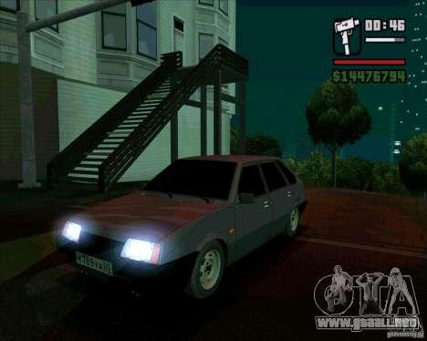 VAZ 2109 05 Final para GTA San Andreas