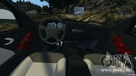 Chevrolet S-10 Colinas Cabine Dupla para GTA 4 vista hacia atrás