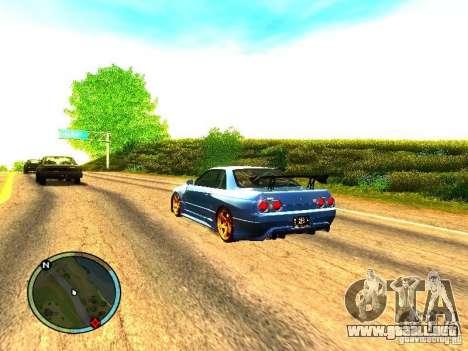 Nissan Skyline B324R para la visión correcta GTA San Andreas