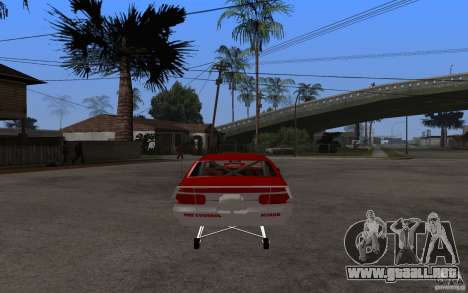 Chevrolet Impala 1995 para GTA San Andreas vista posterior izquierda