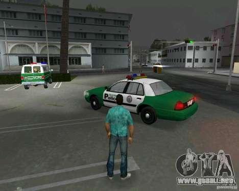 Ford Crown Victoria 2003 Police para GTA Vice City vista lateral izquierdo