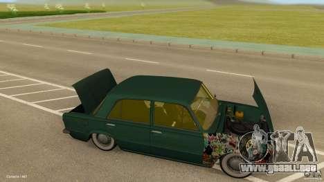 VAZ 2101 baja & Classic para GTA San Andreas vista hacia atrás