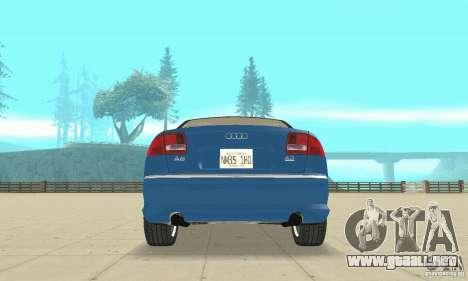 Audi A8L 4.2 FSI para las ruedas de GTA San Andreas